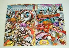 Youngblood Battlezone #1-2 VF/NM complete series - rob liefeld - image comic set