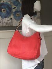 KATE SPADE Pine Street Finley Hobo Satchel Shoulder Handbag Geranium Leather