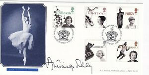 6 AUGUST 1996 WOMEN OF ACHIEVEMENT FIRST DAY COVER SIGNED DAME ANTOINETTE SIBLEY
