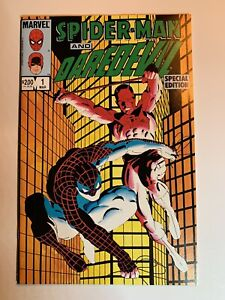 Spider-Man and Daredevil Special Edition #1 Unread NM+