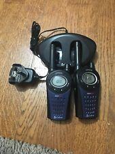 Cobra MT975 Walkie Talkie Radio Twin Charger & Batteries