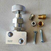 Disc Brake Swap Adjustable PROPORTIONING VALVE Complete Kit W/ Instructions