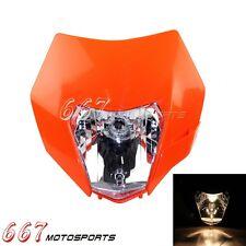Dirt Bike Streetfighter Headlight Headlamp Fairing For KTM EXC XC MXC 250 450