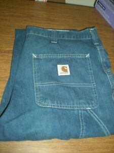 Carhartt Carpenter's Jeans Size 36x32 #382-83 - V GOOD CONDITION A