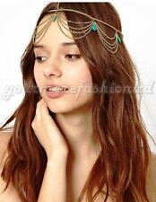 Gold Head Chain Pieces Hair Band Hair Jewelry  Crown style(P53)