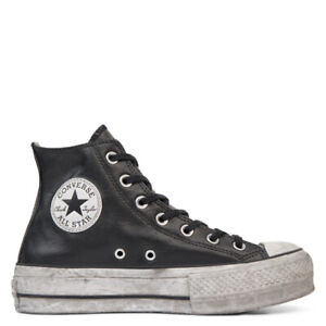 CONVERSE CHUCK TAYLOR ALL STAR LIFT LEATHER  PLATFORM HI 562908C LIMITED EDITION