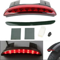 Chopped Fender Edge LED Tail Light  For Harley XL 883N Iron 09-2014 Turn Signals