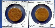 Ca.1959 Canada Wooden Nickel -Gateway to the Thousand Islands