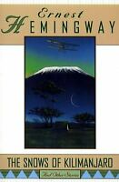 Snows of Kilimanjaro and Other Stories Paperback Ernest Hemingway