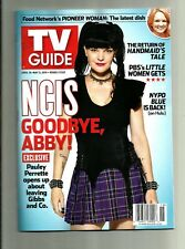 TV GUIDE-4/2018-NCIS-PAULEY PERRETTE-GOODBYE ABBY!-NO MAILING LABEL
