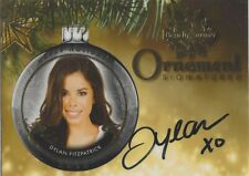 Benchwarmer 2015 Holiday Series DYLAN FITZPATRICK Ornament Signature Autograph