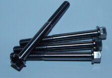 4x Titanium M6 x 60mm Engine Case Hex Head Flange Bolts