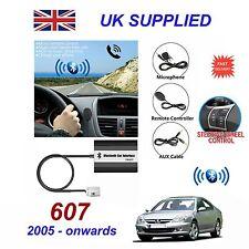 pour PEUGEOT 607 Bluetooth Mains Libres TéléPhone Entrée Auxiliaire MP3