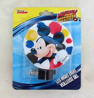 New Disney Mickey Mouse Roadster Racers LED Night Light Lite On-Off Switch Shade