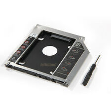 2nd HD HDD SSD Hard Drive Caddy Adapter for Macbook Pro 2009 2010 2011 2012 2013