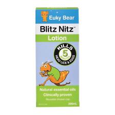 200ml Blitz Nitz Lotion Euky Bear Natural Kill Head Lice Eggs Nit Hair Treatment