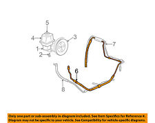 GM OEM-Power Steering Pressure Hose 26095037