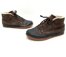Patagonia Activist Mens Espresso Suede Lined Winter Snow Boots Size 12