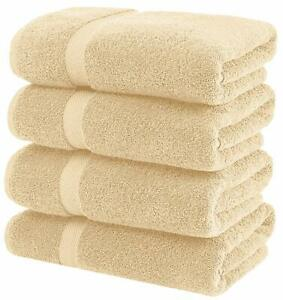 White Classic Luxury Grey Bath Towels Large - Circlet Egyptian Cotton | Highly A