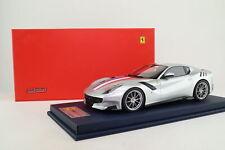 Looksmart 1815E 1:18 Scale; 2015 Ferrari F12 TDF; Silver; Excellent Boxed