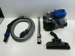 eureka WhirlWind Bagless Canister Vacuum Cleaner, Lightweight Vac, Blue