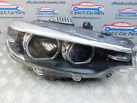 BMW 4 SERIES LCI  DRIVER RIGHT XENON HEADLIGHT 7498916 1/11