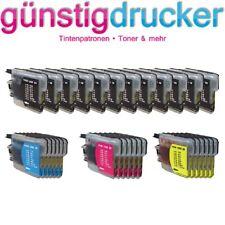 30 Druckerpatronen Brother LC980 / LC1100 DCP525CN DCP375CW DCP195C DCP145C