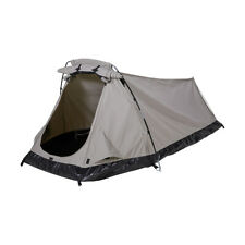 Mountview Double King Single Swag Camping Swags Canvas Dome Tent Hiking Navy F1