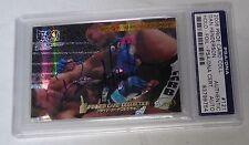 Dan Henderson Signed 2006 Pride FC Grand Prix Holo Foil Card 121 PSA/DNA COA UFC