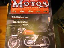 FASCICULE ESPAGNOL 1 MOTOS CLASSIQUES MONTESA IMPALA 1962