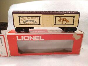 Lionel 6-7701 Camel Box Car  NIB