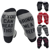 Unisex Harajuku Couple Lover Socks If You Can Read This Bring Me A Wine Socks US