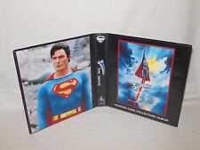 Custom Made Superman The Movie Christopher Reeve Album Binder Graphics Only