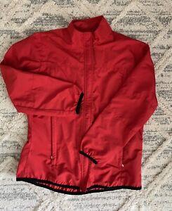 Nike coat women's size large red