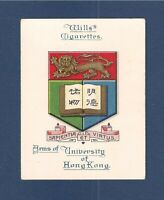 UNIVERSITY of HONG KONG UNIVERSITY   HKU  Coat of Arms Original 1923 print Card