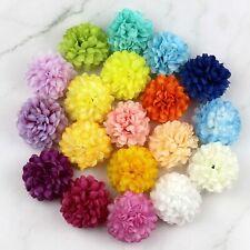 "50/100 Lot Spherical Daisy 2"" Artificial Silk flower Head Fake Floral Home Decor"