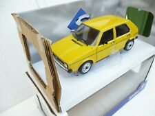 VW Volkswagen Golf 1 in 1:18 Diecast  Solido + gelb + New  Limitiert S1800201