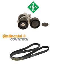 For BMW E82 E84 E88 135i 135is Drive Belt Tensioner w/ Pulleys & Serpentine Belt