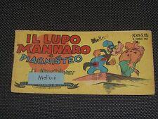 """GLI ALBI TASCABILI DI TOPOLINO 85 1950 - IL LUPO MANNARO E PIAGNISTEO - BUONO""""U"""""""