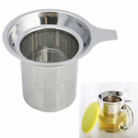 EG_ Stainless Steel Mesh Tea Infuser Cup Strainer Loose Tea Leaf Filter Sieve Ey