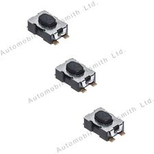 3 Micro Switches for Peugeot 107 207 407 308 408 Partner Expert Remote Flip Key