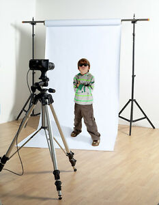 HIGH KEY White vinyl Matt Photographic background/backdrop 1.6mtr. WIDE x 5mtr.