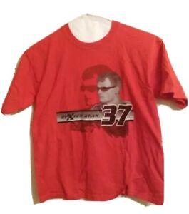 Vintage Dexter Bean#37 NASCAR Team GLOCK youth T-Shirt Size L 40 x 23