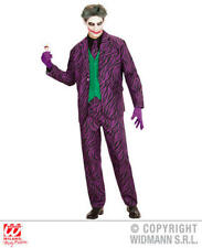 Mens Male Adult Evil Joker Halloween Fancy Dress Costume Outfit M