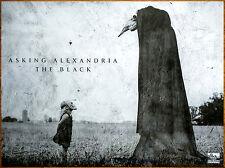 ASKING ALEXANDRIA The Black 2016 Ltd Ed RARE HUGE Poster +FREE Rock Metal Poster