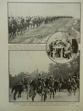 1915 RUSSIAN LANCERS CAVALRY IN GALICIA  WWI WW1