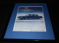 1985 Cadillac Fleetwood 11x14 Framed ORIGINAL Vintage Advertisement