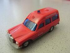Wiking Mercedes Benz Hochlang Feuerwehr Krankenwagen Sammlung Sammlungsauflösung