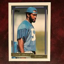 1992 Topps GOLD Set QUENTIN CORYATT ROOKIE high #701 COLTS ** MINT **