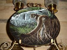 Nature'S Quiet Moments Creekside Tiger Lion Plate